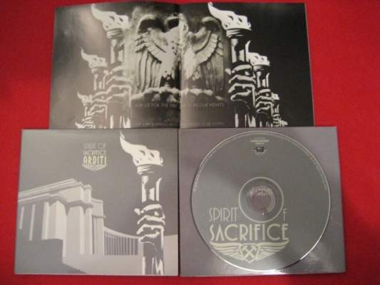 ARDITI - Spirit Of Sacrifice CD (1st) 2004