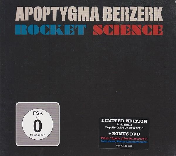 Apoptygma Berzerk - Rocket Science CD+DVD (Ltd)