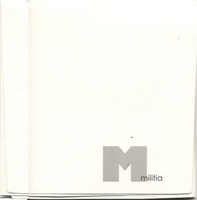 MILITIA - Everything Is One CD (Lim1000) 2005