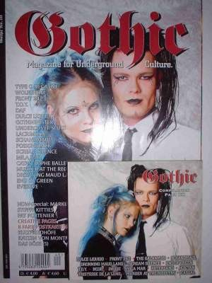 MAG CD V/A Sampler - Gothic No.40