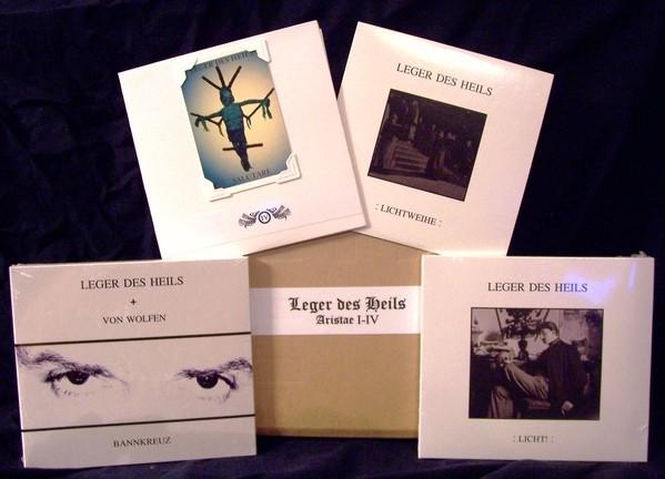 LEGER DES HEILS - Aristae I-IV 4CD BOX (Lim66) 2016