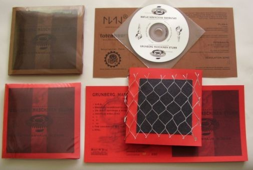 V/A Sampler - Grunberg Maschinen Sturm RED CD (Lim200)