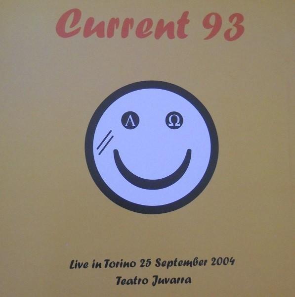 CURRENT 93 - Live In Torino, Teatro Juvarra LP (Lim150)