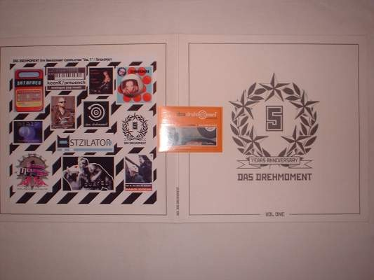 V/A Sampler - Das Drehmoment 5 Years Anniversary Vol.1 LP (Lim10