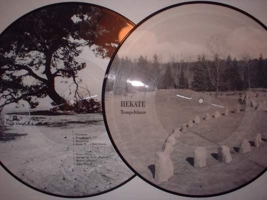 HEKATE - Tempeltaenze Pic LP (Lim500)