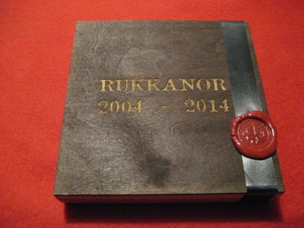 RUKKANOR - 2004 -2014 3CD WOODEN BOX (Lim25) 22.12.20 PRE-ORDER !