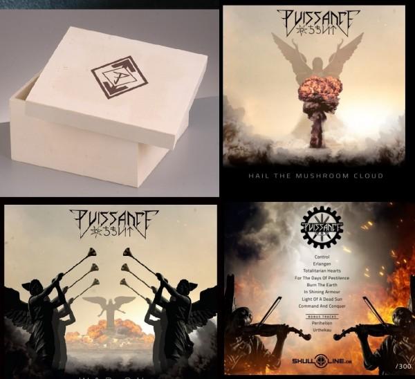 PUISSANCE (Arditi) - War On CD BOX SET 2 (Lim25) 30.10.21 PREORDER !