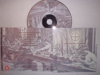 Atrox - The other face of delusion CD (1st Lim100)