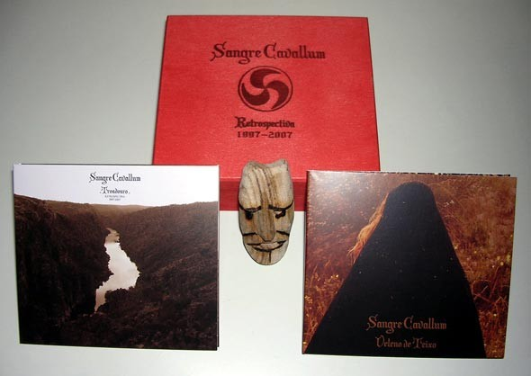 SANGRE CAVALLUM - Retrospectiva 3CD Wooden Box (Lim200) 2007