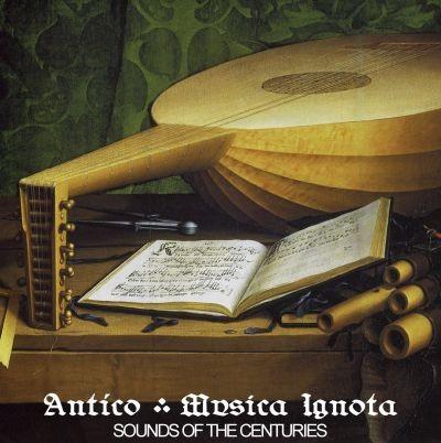 Antíco (Kraschau) - Musica Ignota CDr (Lim50)