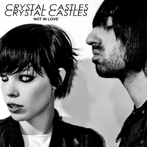 Crystal Castles Feat. Robert Smith ‎- Not In Love CDr 2014
