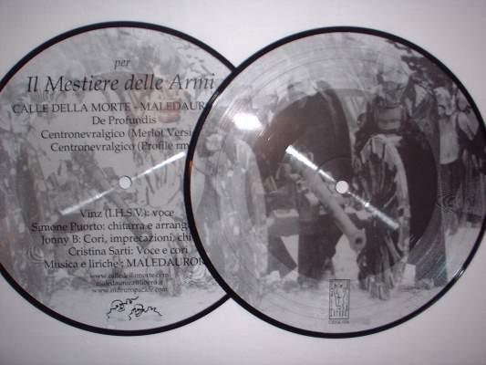 Calle Della Morte /Maledaurora - Mestiere Armi Pic 7 (Lim200)