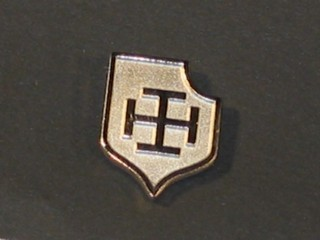 KRUKENKREUZ - Pin (steel)