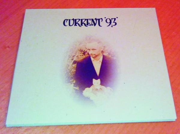 CURRENT 93 Paris, Passage du Nord Ouest / Tibet Edition 1 CD