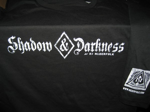 DJ Nederfolk - Shadow & Darkness SHIRT