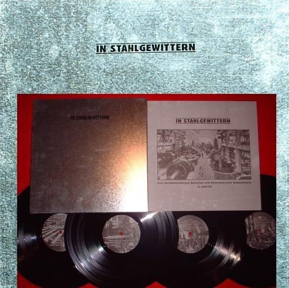 V/A Sampler - In Stahlgewittern II 4LP (Lim750)