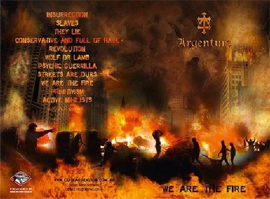 ARGENTUM - We Are The Fire CDr (Lim200)