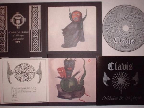 Hybryds & Nebulon - Clavis CD (Lim999)
