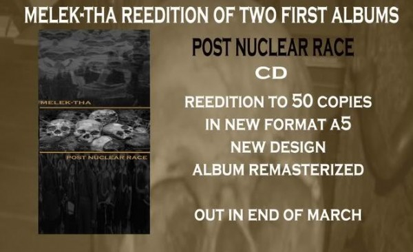 Melek-tha - Post Nuclear Race CD (2nd Lim50)