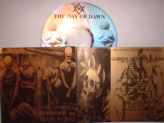 Current 93 / Death In June / Sol Invictus - The Day Of Dawn CD