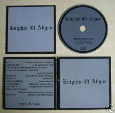 V/A Sampler - Knights Of Abyss CD (Lim1000)