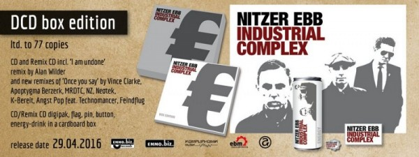 NITZER EBB - Industrial Complex Box (Lim77) 2016