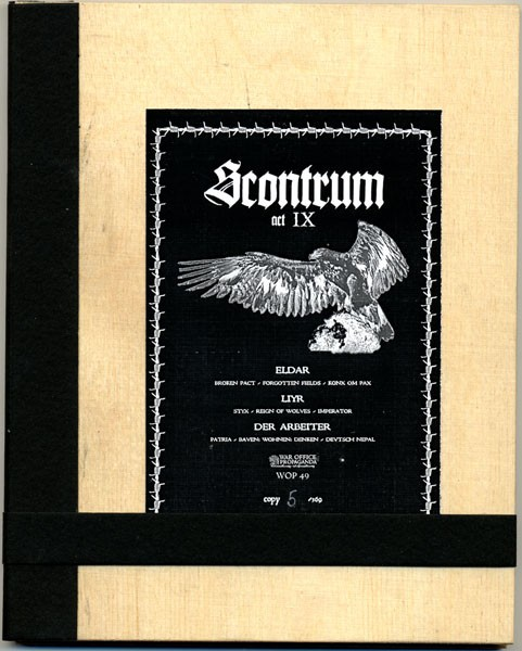 V/A Sampler - Scontrum IX CD Wooden Plates (Lim369) 2010