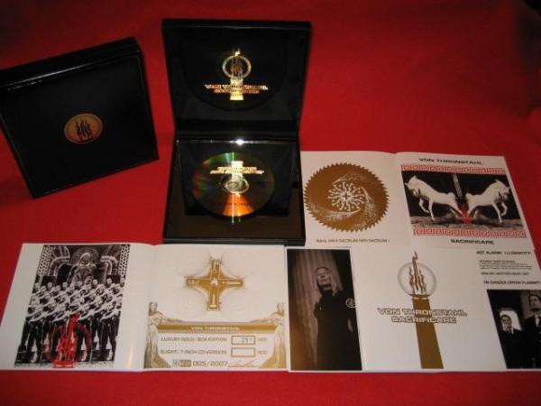 Von Thronstahl - Sacrificare CD BRONZE-PLATE-BOX