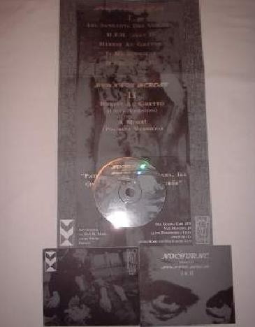 NOCTURNE - Hymn For Herest I & II CD (Lim500)