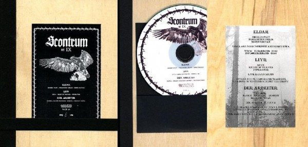 V/A Sampler - Scontrum IX CD Wooden Plates (Lim369) 2010