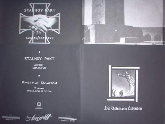 Rasthof Dachau / Stalnoy Pakt - Die Toten An Die Lebenden MLP (Lim475)