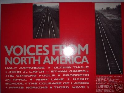 V/A Sampler - Voices from North America LP (Lim800)