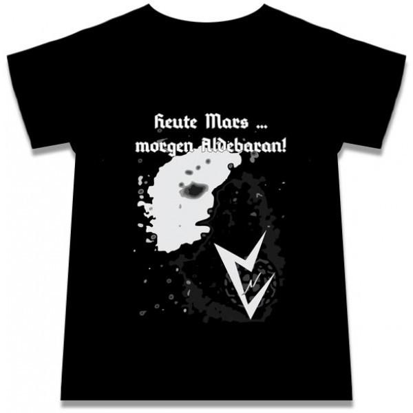 Heute Mars ... morgen Aldebaran! - Shirt (Lim100) 2012
