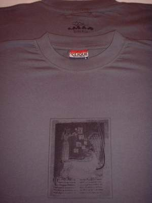 Boyd Rice / M. Janeiro - The Vessel of God SHIRT 2006