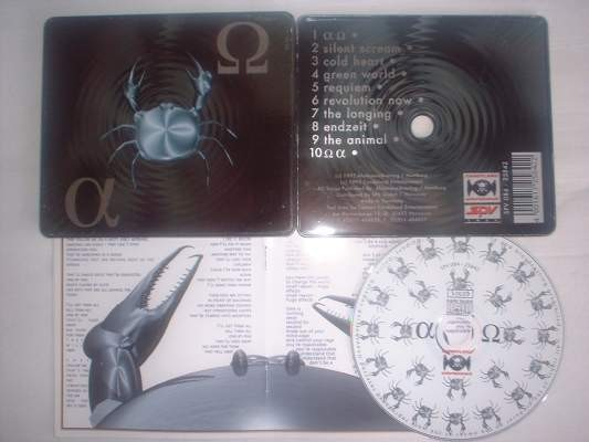 Project Pitchfork - Alpha Omega CD BOX RARE !