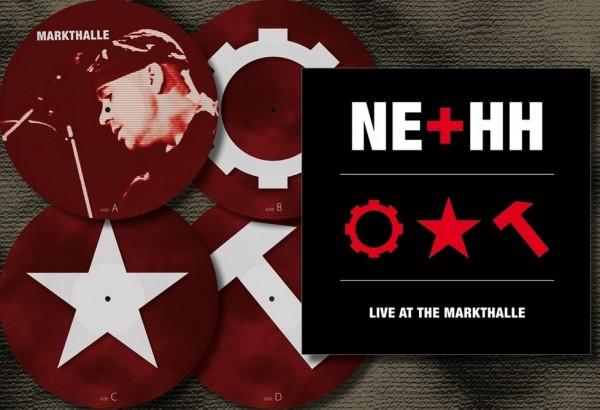 Nitzer Ebb - Live At The Markthalle 2xPic LP Bon