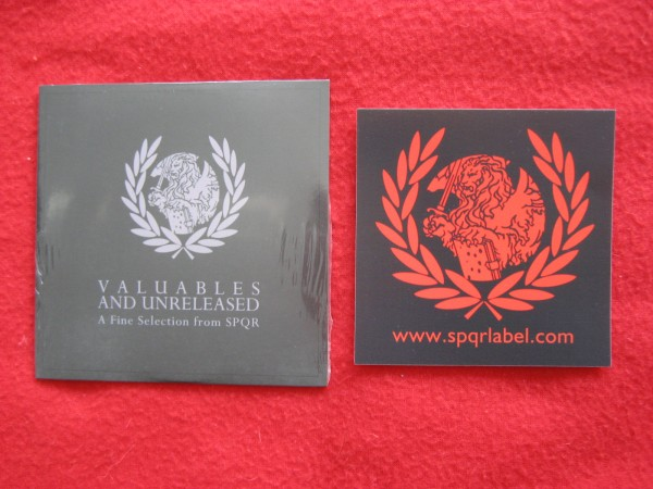V/A - Valuables And Unreleased CD+ sticker (LTD) 2017