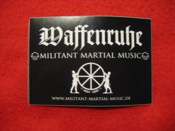 WAFFENRUHE - Sticker