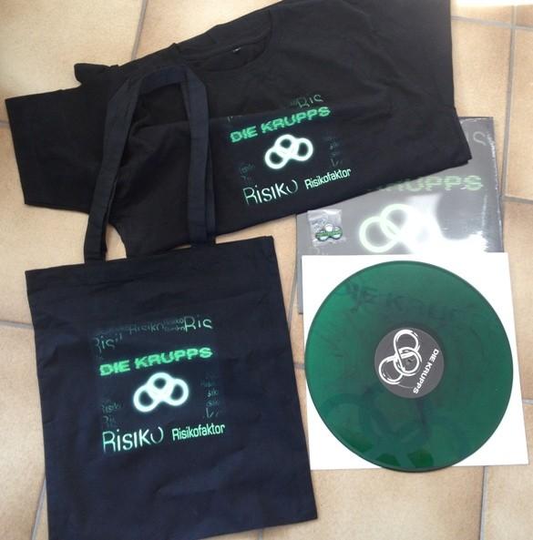 Die Krupps - Risikofaktor Bag Set (Lim100)