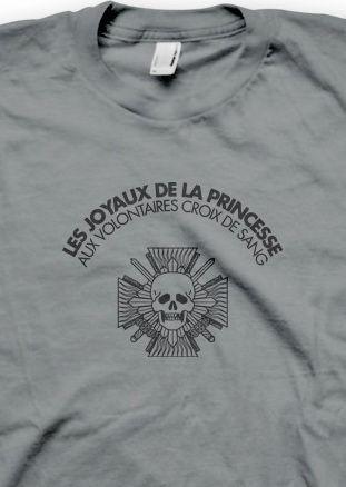 Les Joyaux De La Princesse - Aux Volontaires Croix..gray SHIRT