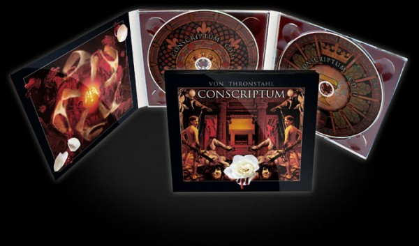 Von Thronstahl - Conscriptum 2CD (+signed)