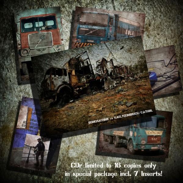 Bonemachine / Kaelteeinbruch & Catgirl - Split CDr (Lim16)