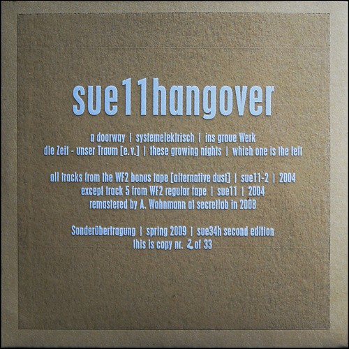 Antlers Mulm - Sue11hangover CD (2nd Lim33)