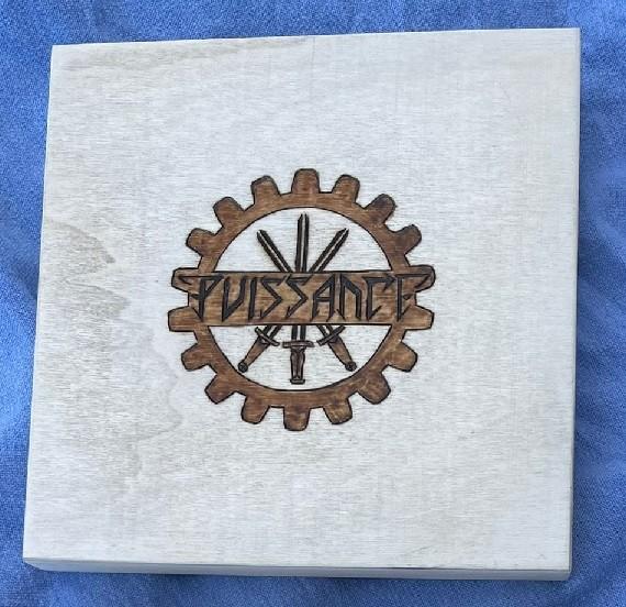 PUISSANCE (Arditi) - War On CD WOODEN BOX SET 1 (Lim25) 30.10.21 PREORDER !