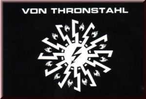 VON THRONSTAHL - Logo Sticker 2011