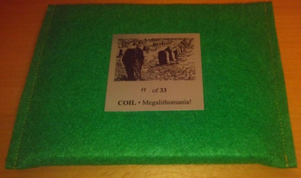 COIL - Megalithomania! CD special edition (Lim33)