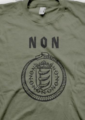 NON (Boyd Rice) - Osaka Shirt (Olive)