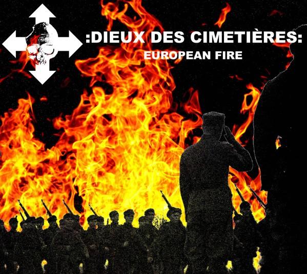 Dieux Des Cimetières - European Fire CD Dig (Lim100) 2020