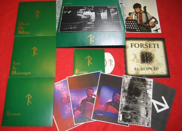 FORSETI - Rarities 4-CD SET (Lim100) 2016