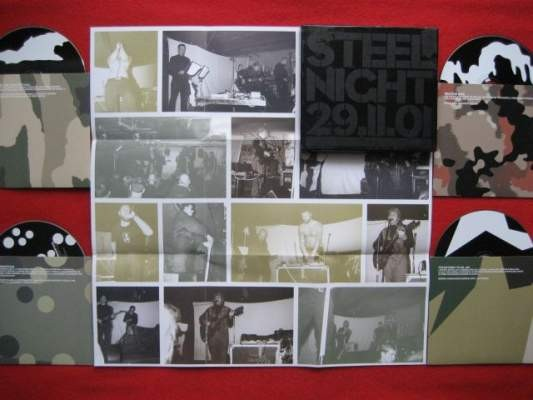 V/A Sampler - Steel Night 4CD Box (Death in June)